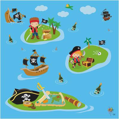 Speelkleed Piraat XL | Vinyl